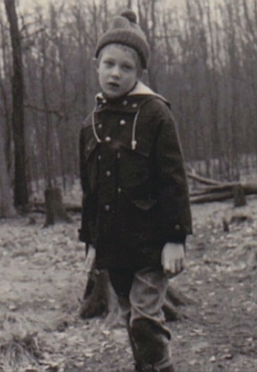 Photo of Lars as a child